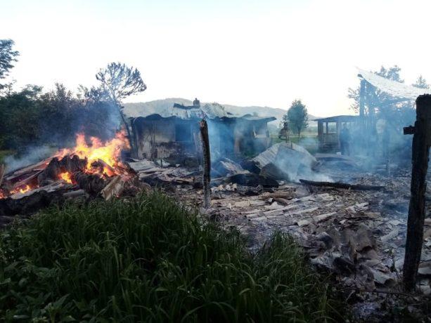 Incendii în vestul țării. Pagubele sunt semnificative
