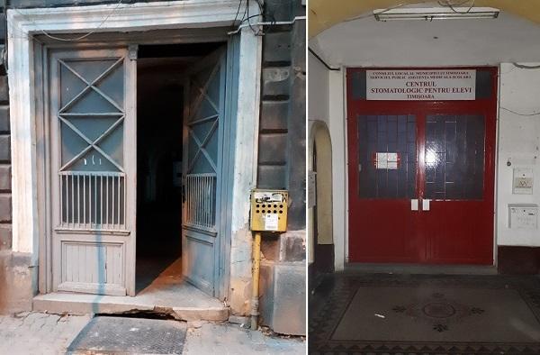 Centrul stomatologic închis din Piața Sfântul Gheorghe