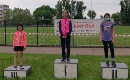 Salbă de medalii pentru sportivii timișoreni, la Campionatul Național de Laser Run
