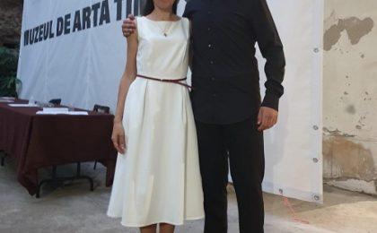 Timişorenii Leonard Mihale şi Aida Gelati, succese la vreme de pandemie. Video
