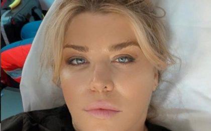 """Loredana Groza, postare din ambulanță: """"Mă simt mai bine"""""""