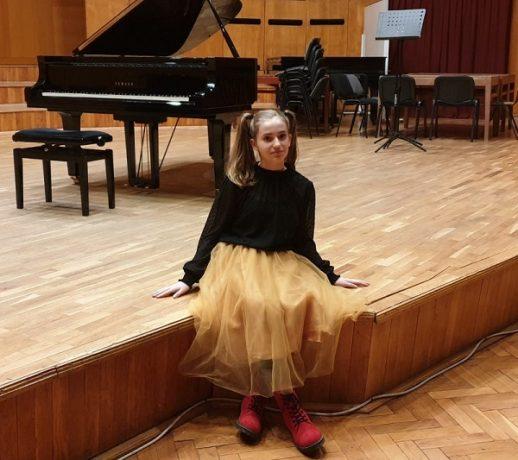 Maia Păltineanu, mica pianistă mare