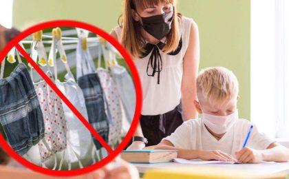Nu se permit măști textile în școli