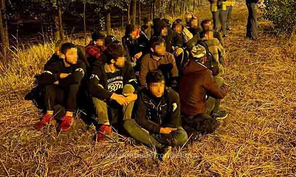 21 de persoane au încercat să treacă fraudulos frontiera de vest
