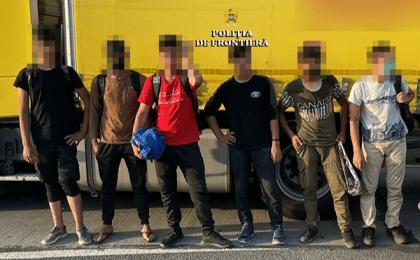 Mai mulţi migranți au încercat să treacă ilegal frontiera în vestul ţării