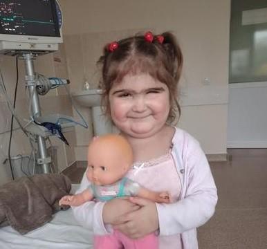Anunț umanitar: Ajutor pentru Mihaela, o fetiță de 4 ani care are nevoie de transplant de inimă