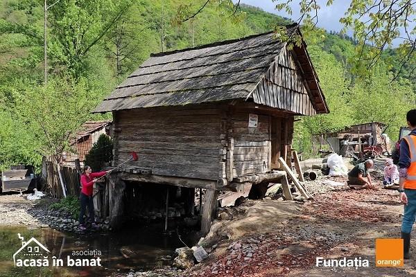 Morile de apă de la Rudăria, redate circuitului turistic, cu ajutorul a peste 200 de voluntari