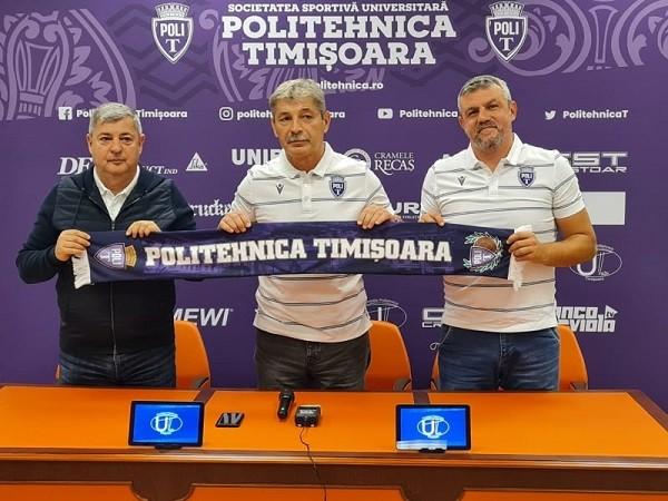 Antrenorul Nicolae Croitoru, prezentat oficial la Politehnica