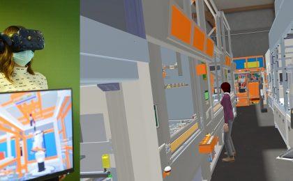 Ochelari virtuali pentru o fabrică ideală la Timişoara