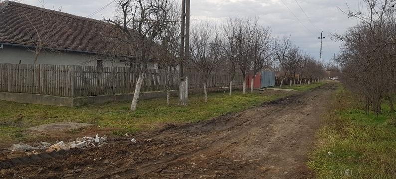 În timp ce primarul Mihai Petricaș își umple conturile bancare, există localnici în Parța care-și doresc măcar pietriș pe uliță, dacă asfaltul e prea scump...