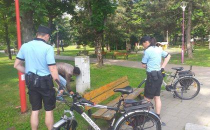 Patrule velo, poliţişti locali, pe malurile Begăi, pentru siguranţa timişorenilor