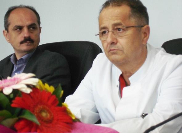 Prof. dr. Virgil Păunescu şi prof. dr. Viorel Bucuraș