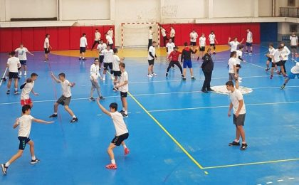FRH a reluat programul Plan Talent, dedicat tinerilor handbaliști. Timişoara - 24 octombrie