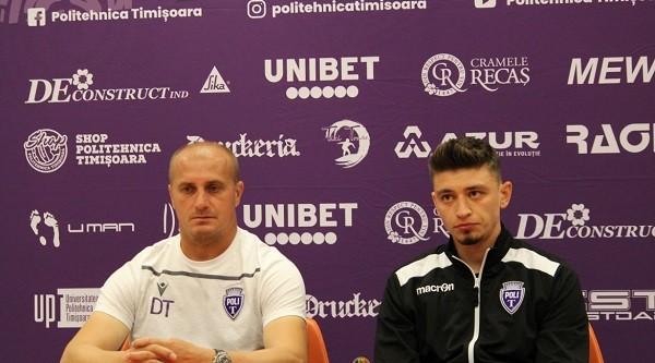"""Dorin Toma, antrenor Poli Timişoara: """"Ne aşteaptă o partidă dificilă cu Metaloglobus"""". Meci televizat"""