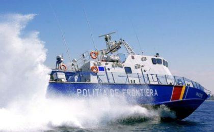 Nouă afgani care au trecut Dunărea cu o barcă gonflabilă, prinşi la frontiera de vest