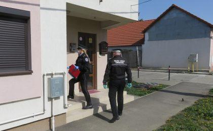 Peste 1.700 de persoane izolate sau carantinate, verificate zilnic de polițiștii locali din Timișoara