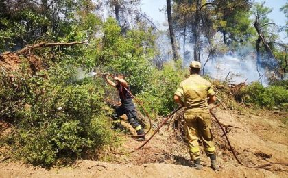 Ziar elen, despre pompierii români din insula Evia: Parcă sunt extratereștri