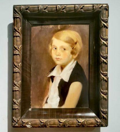 """""""Portret de fetiță blondă din Timișoara"""""""