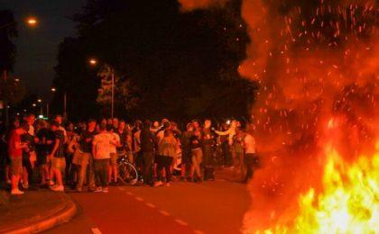 Protest in Olanda fata de sosirea refugiatilor afgani