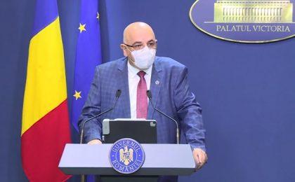 Raed Arafat a prezentat noile restricții care vor fi instituite de luni în România pentru 30 de zile