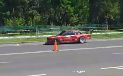 Raliu la Becicherecu Mic: concurs automobilistic de viteză și de karting