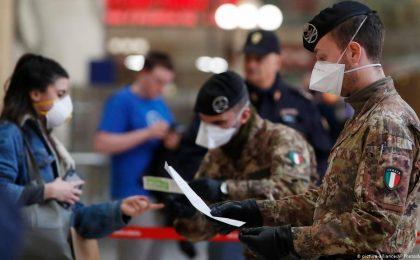 Coronavirus: Italia a decis să prelungească restricţiile până la sfârşitul lui aprilie