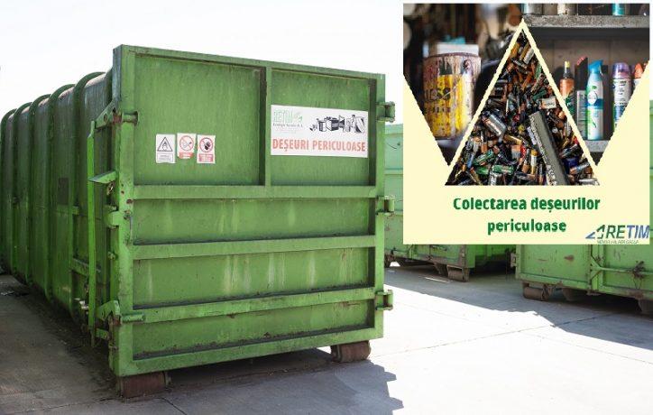 Anunţ pentru timişeni: Deșeurile periculoase se colectează separat de celelalte tipuri de deșeuri din gospodărie