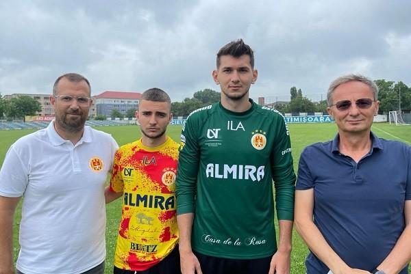 Doi jucători noi la Ripensia: portarul Ionuț Rus și mijlocaşul Zoran Mitrov