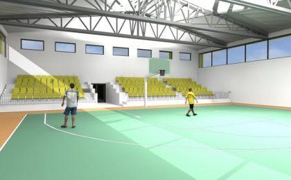 Sală de sport nouă, construită cu bani europeni, la o şcoală din Timişoara