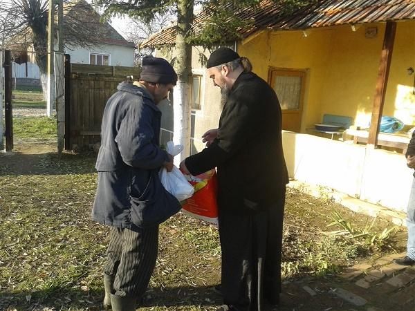 Nevoiașii primesc întotdeauna ajutor la Partoș