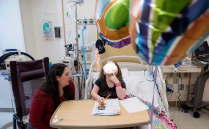 """""""Școala în spital"""" – un program pentru preșcolarii și elevii internați într-o unitate medicală"""