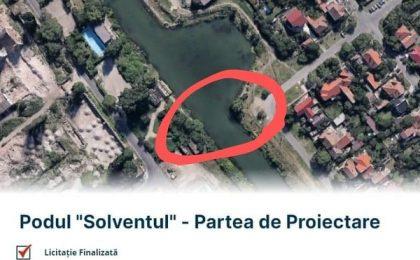 Podul Solventul din Timișoara, mai aproape de materializare
