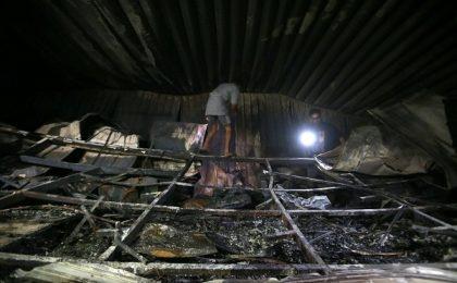 Incendiu la un spital Covid din Irak: Zeci de pacienți au ars de vii / Video