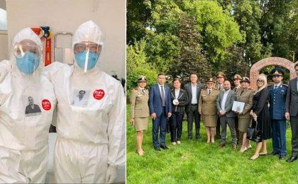 Recunoștință pentru echipa Spitalului Militar Timișoara