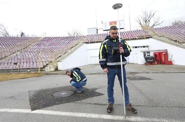 """Fierbe"" noul stadion de la Timişoara"
