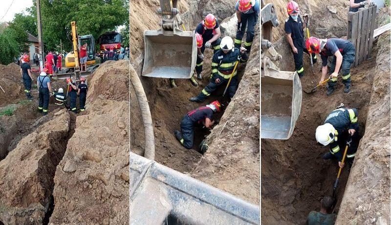 Surpare de pământ, în apropiere de Timișoara. Două victime