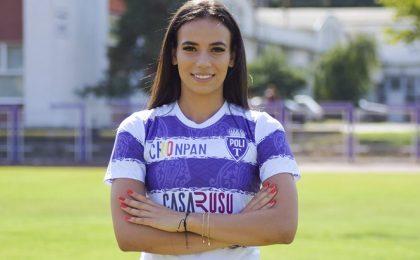 Teodora Meluță, de două ori cea mai bună fotbalistă a României, va juca la Poli Timișoara