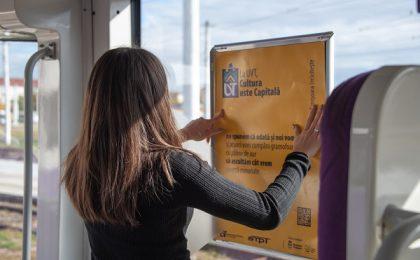 UVT aduce poezia mai aproape de timișorenii care folosesc transportul public în comun