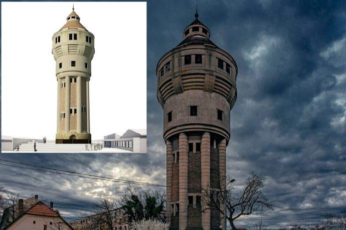 Turnul de apă din Iosefin primește o nouă viață. Puțină istorie a apei în Timișoara