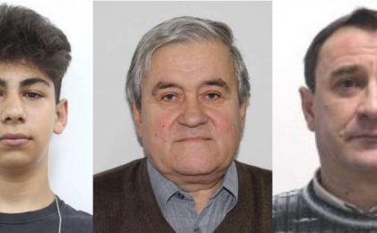 Cei trei sunt de negăsit şi au fost daţi în urmărire. Poliţia cere sprijin