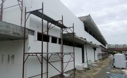Lucrari de constructie la spitalul Victor Babeș