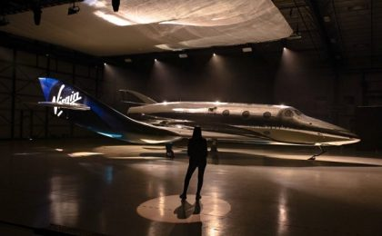 Biletele pentru zborul în spațiu cu Virgin Galactic costă 450.000 de dolari