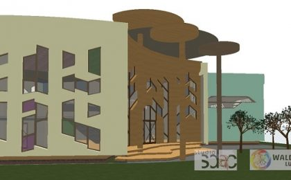 Corp nou de clădire la Liceul Waldorf din Timișoara